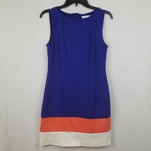 Trina Turk Color Block Shift Dress